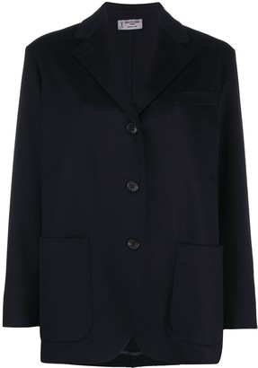 Alberto Biani Relaxed Single-Breasted Blazer
