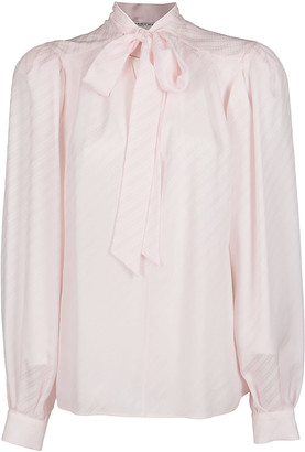 Givenchy Light Pink Silk Blouse