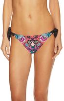 Nanette Lepore Bali Batik Vamp Bikini Bottom
