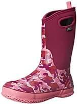 Bogs Classic High Waterproof Insulated Rubber Neoprene Rain Boot,7 M US Toddler