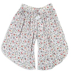 Chloé Girls' Floral Print Wide-Leg Pants - Little Kid, Big Kid