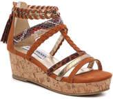 Steve Madden Girls Kaleni Youth Wedge Sandal
