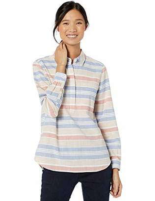 Goodthreads Washed Cotton Popover ShirtL