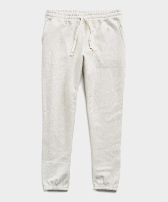 Todd Snyder + Champion Heavyweight Classic Sweatpant in Eggshell Mix