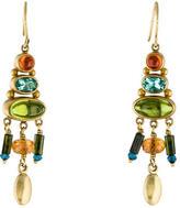 Mallary Marks 22K Garnet, Peridot & Tourmaline Drop Earrings