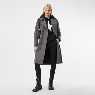 Burberry Regenerated Cashmere Trench Coat