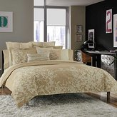 Kenneth Cole Reaction Kenneth Cole Radiant Queen Full Duvet Cover, Gold