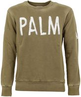 Palm Angels Brown Palm Print Sweater