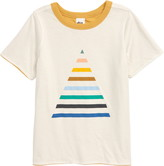Tea Collection Reversible Pyramid Graphic Tee