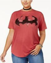 Hybrid Trendy Plus Size Batman Graphic T-Shirt