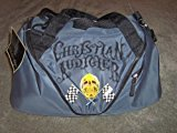 Christian Audigier Skull / Flag Duffle Bag