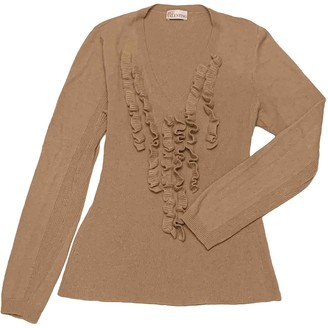 Valentino Red Camel Wool Knitwear for Women