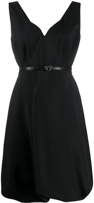 Salvatore Ferragamo Gancini detail short dress
