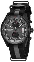 Stuhrling Original Quartz Black Dial Watch