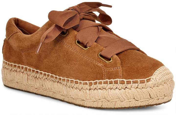a0ced3aab0d Brianna Suede Espadrille Loafer Shoes - Brown