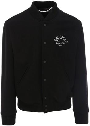 Off-White Arrow Varsity Jacket