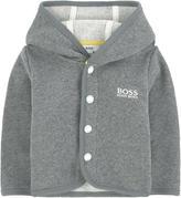 BOSS Fleece-lined hoodie