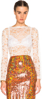 Nina Ricci Cornelly Lace Top