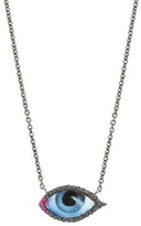 Lito Small Diamond Eye Necklace