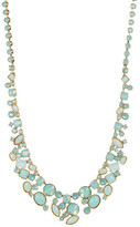 Sorrelli Stacked Crystal Cluster Statement Necklace