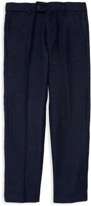 Isaac Mizrahi New York Little Boy's & Boy's Wool Blend Tweed Pants