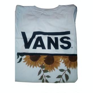 Vans White Cotton Top for Women