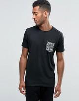 Brave Soul Camo Pocket T-Shirt