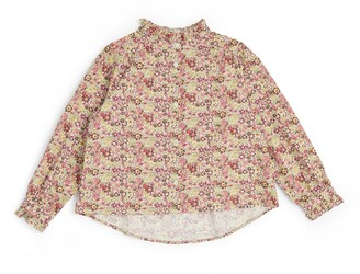 Bonton Floral Print Blouse (4-12 Years)