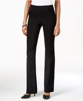 Style&Co. Style & Co Pull-On Boot-Leg Pants, Only at Macy's