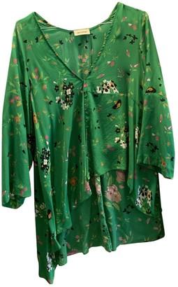 Zadig & Voltaire Spring Summer 2019 Green Silk Top for Women