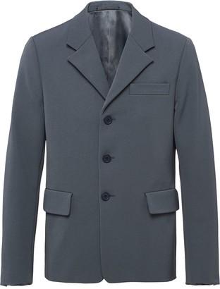 Prada Single-Breasted Blazer Jacket