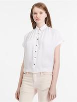 Calvin Klein Jeans Boxy Satin Shirt