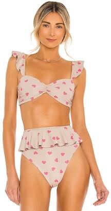 Beach Riot Poppy Bikini Top