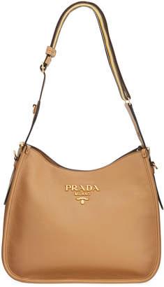 Prada Daino Hobo Shoulder Bag