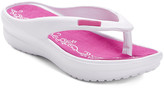 Star Bay Women's Flip-Flops Fuchsia - Fuchsia & White Flip-Flop - Women