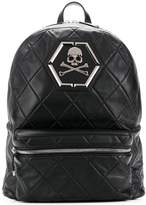 Philipp Plein quilted leather backpack