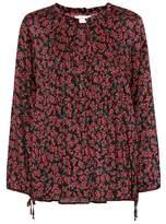 Velvet Dalary floral-printed top