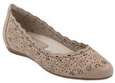 Earthies Women's Lindi Perforated Flat