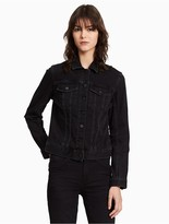 Calvin Klein Jeans Shadow Black Trucker Jacket