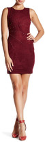Jessica Simpson Sunburst Faux Suede Dress