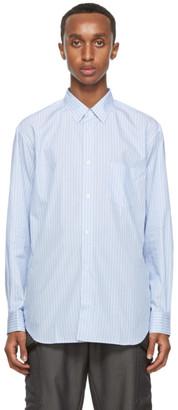 Comme des Garçons Shirt Blue Striped Forever Shirt