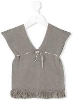 Violeta E Federico - knit tank top - kids - Cotton - 18 mth