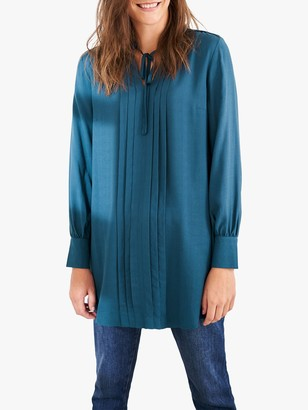 White Stuff Leah Tunic, Mid Teal