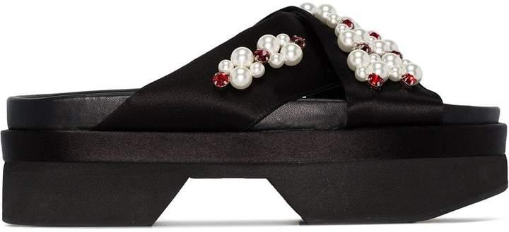 Pearl Sandals Japanese Japanese Japanese Embellished Embellished Pearl Sandals Embellished Pearl c3KF1uTlJ