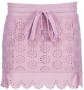 Fenty X Puma Scalloped Drawstring Mini Skirt