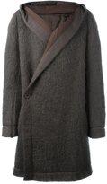 Rick Owens 'Capott DS' coat - men - Cotton/Nylon/Mohair/Virgin Wool - 48