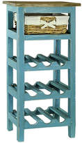 Antique Revival Monet 9 Bottle Floor Wine Rack