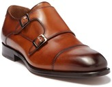 Antonio Maurizi Cap Toe Leather Double Monk Strap Loafer