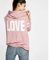 Express one eleven love zip hoodie