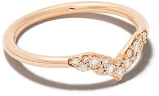 Astley Clarke 14kt rose gold Interstellar Axel diamond ring